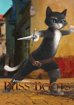 Puss in Boots movie poster (2011) poster MOV_5d44b49d