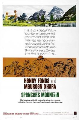 Spencer's Mountain movie poster (1963) poster MOV_5d51631a