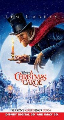 A Christmas Carol movie poster (2009) poster MOV_5d6607db