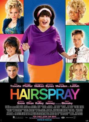 Hairspray movie poster (2007) poster MOV_5d7faa53