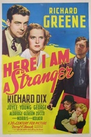 Here I Am a Stranger movie poster (1939) picture MOV_5d7ff6bb