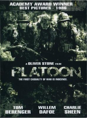 Platoon Movie Logo