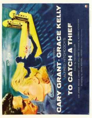 To Catch a Thief movie poster (1955) poster MOV_5d9cb666