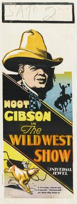 The Wild West Show movie poster (1928) poster MOV_5da57df4