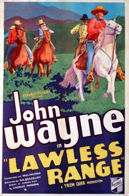 Lawless Range movie poster (1935) poster MOV_5da62b86