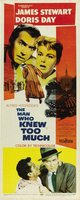 The Man Who Knew Too Much movie poster (1956) picture MOV_5dabd13c