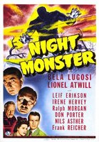 Night Monster movie poster (1942) picture MOV_5dc3c4c6