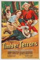 Timber Terrors movie poster (1935) picture MOV_5dd8f61e