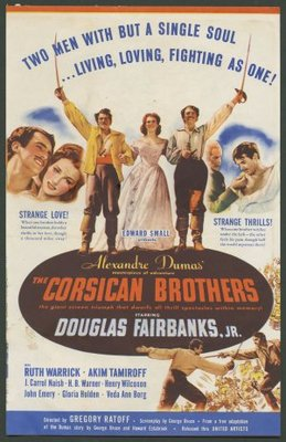 The Corsican Brothers movie poster (1941) poster MOV_5ddd8ae0