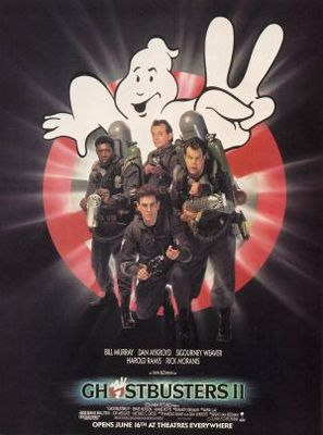 Ghostbusters II movie poster (1989) poster MOV_5de63973