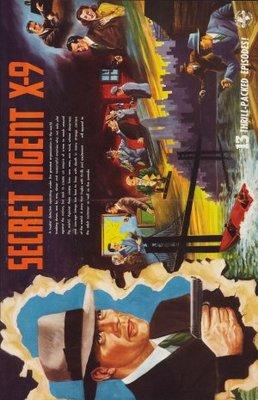Secret Agent X-9 movie poster (1945) poster MOV_5e02c4e5