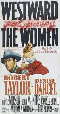 Westward the Women movie poster (1951) poster MOV_5e07c074