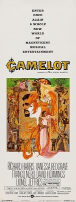 Camelot movie poster (1967) poster MOV_5e2cccd5