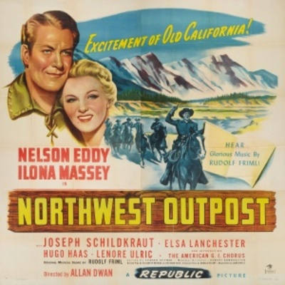 Northwest Outpost movie poster (1947) poster MOV_5e3642d6