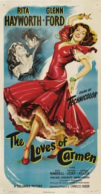 The Loves of Carmen movie poster (1948) poster MOV_5e4ed3fb