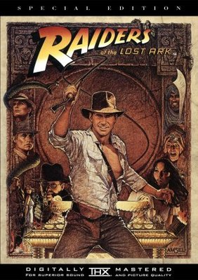 Raiders of the Lost Ark movie poster (1981) poster MOV_5e557f47
