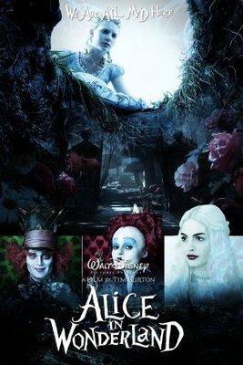 Alice in Wonderland movie poster (2010) poster MOV_5e566209