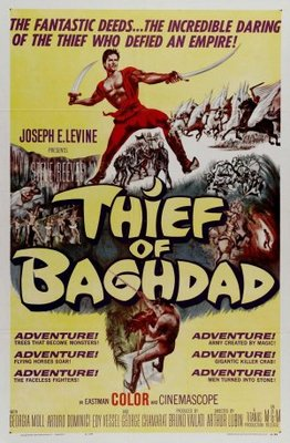 Ladro di Bagdad, Il movie poster (1961) poster MOV_5eade070