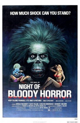 Night of Bloody Horror movie poster (1969) poster MOV_5ece6be1