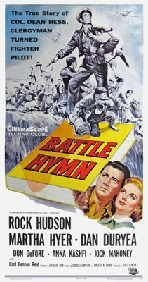 Battle Hymn movie poster (1956) poster MOV_5ed56673