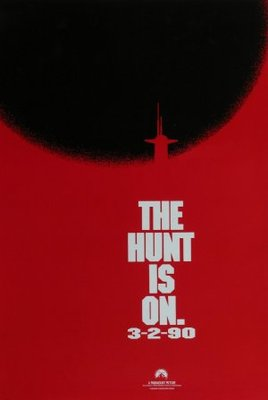 The Hunt for Red October movie poster (1990) poster MOV_5ef1e14c