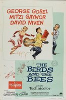 The Birds and the Bees movie poster (1956) picture MOV_5efda5be