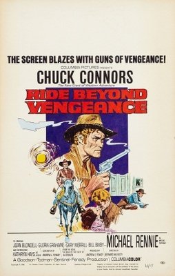 Ride Beyond Vengeance movie poster (1966) poster MOV_5efdca4f