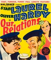Our Relations movie poster (1936) picture MOV_5f06f0a7