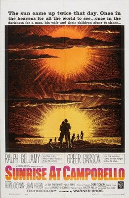 Sunrise at Campobello movie poster (1960) poster MOV_5f1b77cd