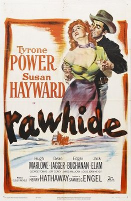 Rawhide movie poster (1951) poster MOV_5f22aa3e