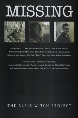 The Blair Witch Project movie poster (1999) poster MOV_5f24e346