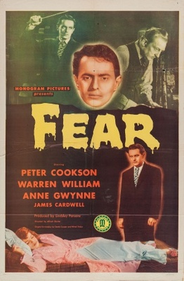 Fear movie poster (1946) poster MOV_5f2d1eb1