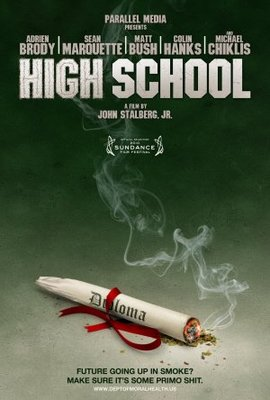 High School movie poster (2010) poster MOV_5f2fd9eb