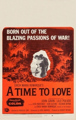 A Time to Love and a Time to Die movie poster (1958) poster MOV_5f30b964
