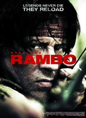 Rambo movie poster (2008) poster MOV_5f372a08