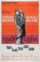 Two for the Seesaw movie poster (1962) picture MOV_5f4cc249