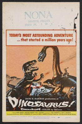 Dinosaurus! movie poster (1960) poster MOV_5f4fc6c4