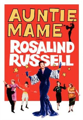 Auntie Mame movie poster (1958) poster MOV_5f55de5a