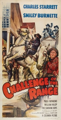 Challenge of the Range movie poster (1949) poster MOV_5f596880