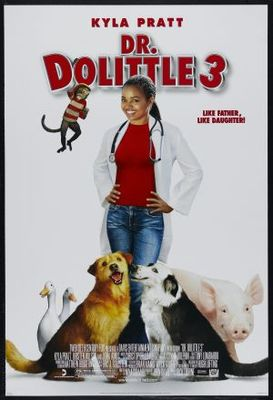 Dr Dolittle 3 movie poster (2006) poster MOV_5f5f6e77