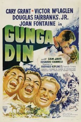 Gunga Din movie poster (1939) poster MOV_5f9095e9