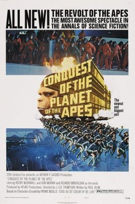Conquest of the Planet of the Apes movie poster (1972) poster MOV_5fabcd94