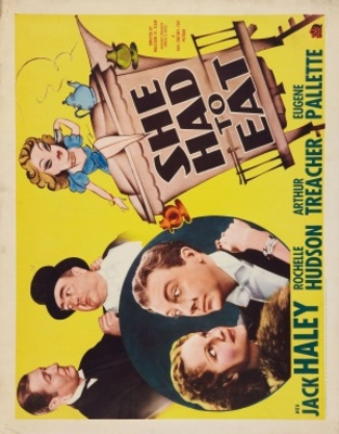 She Had to Eat movie poster (1937) poster MOV_5fcb8d45