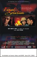 Final Solution movie poster (2001) picture MOV_5fe149d6