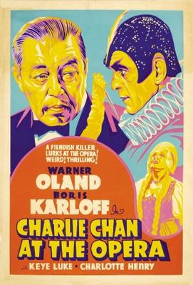 Charlie Chan at the Opera movie poster (1936) poster MOV_6009c7cf