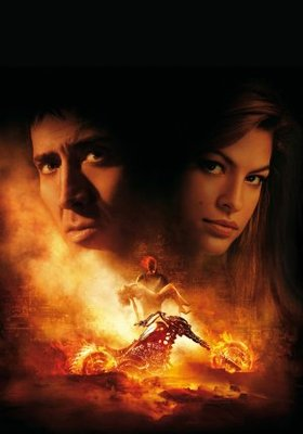 Ghost Rider movie poster (2007) poster MOV_60140be9