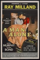 A Man Alone movie poster (1955) picture MOV_601a5453