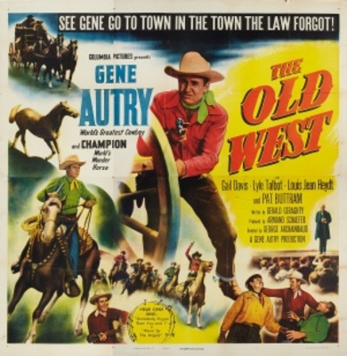 The Old West movie poster (1952) poster MOV_606b0430