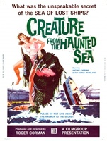 Creature from the Haunted Sea movie poster (1961) picture MOV_608cc4b0
