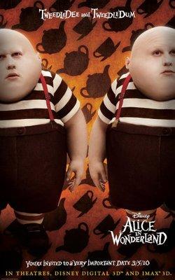 Alice in Wonderland movie poster (2010) poster MOV_609f299b